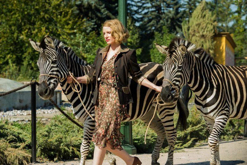 O Zoológico de Varsóvia (2017)