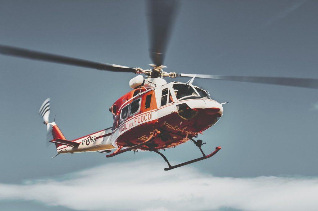 Objeto com H - Helicóptero