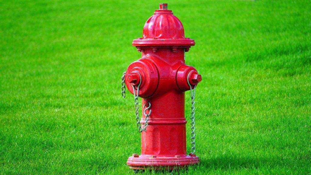 Objeto com H - Hidrante