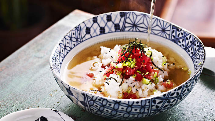 Comida com O - Ochazuke