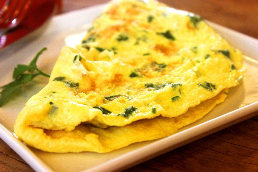 Comida com O - Omelete
