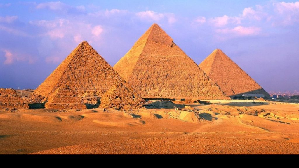 Pirâmides de Gizé (Egito)