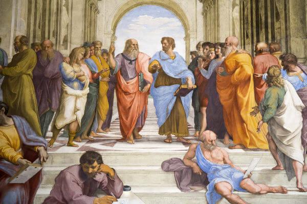 Platao e Aristoteles