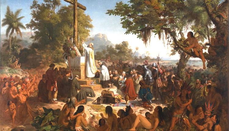 A primeira missa no Brasil