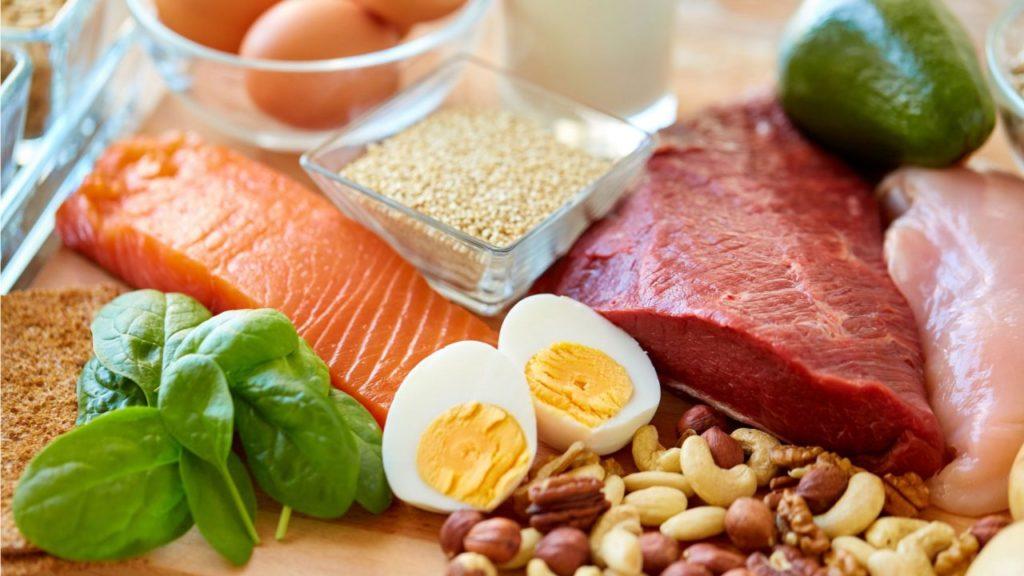 Proteínas - Alimentos ricos em proteínas