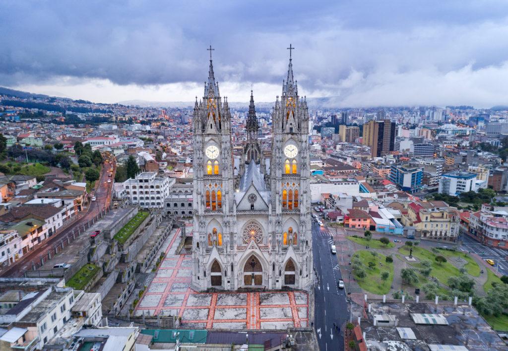 Quito, capital do Equador