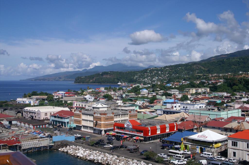 Roseau, capital de Dominica