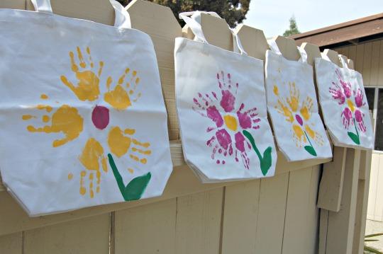 Sacolas ecológicas para o dia das mães