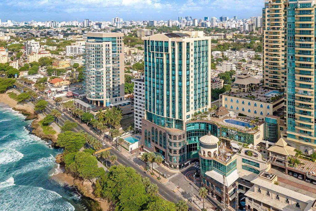 Santo Domingo, capital da República Dominicana.