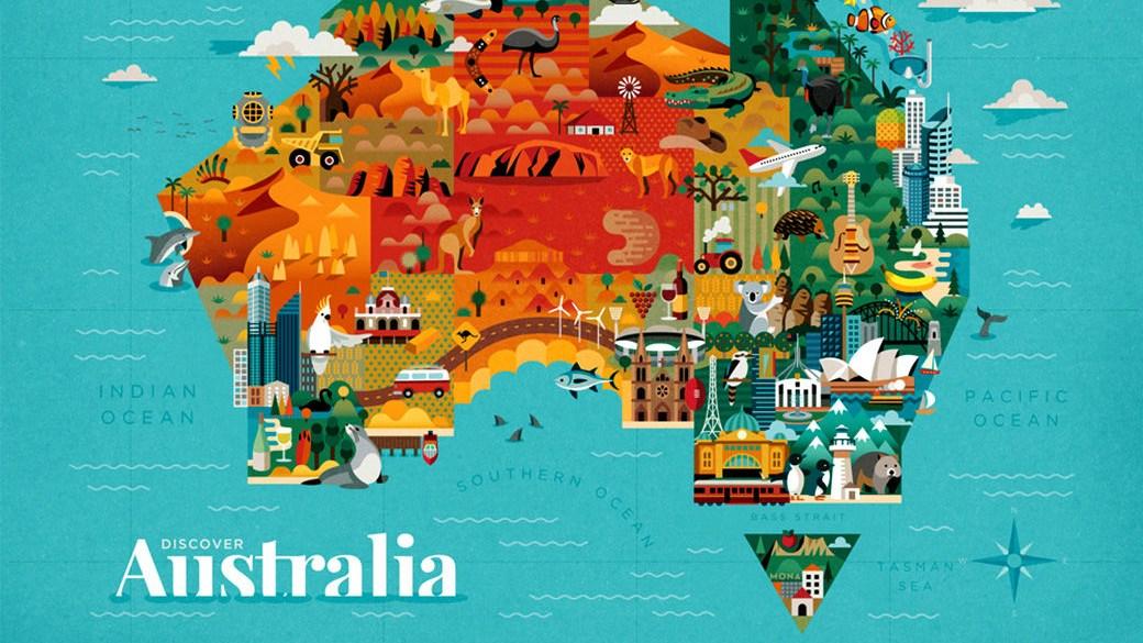 Tipos de mapas - Mapa estilizado