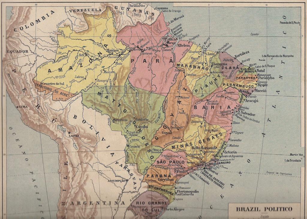 Tipos de mapas - Mapa histórico