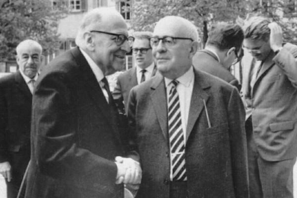 Theodor Adorno e Max Horkheimer