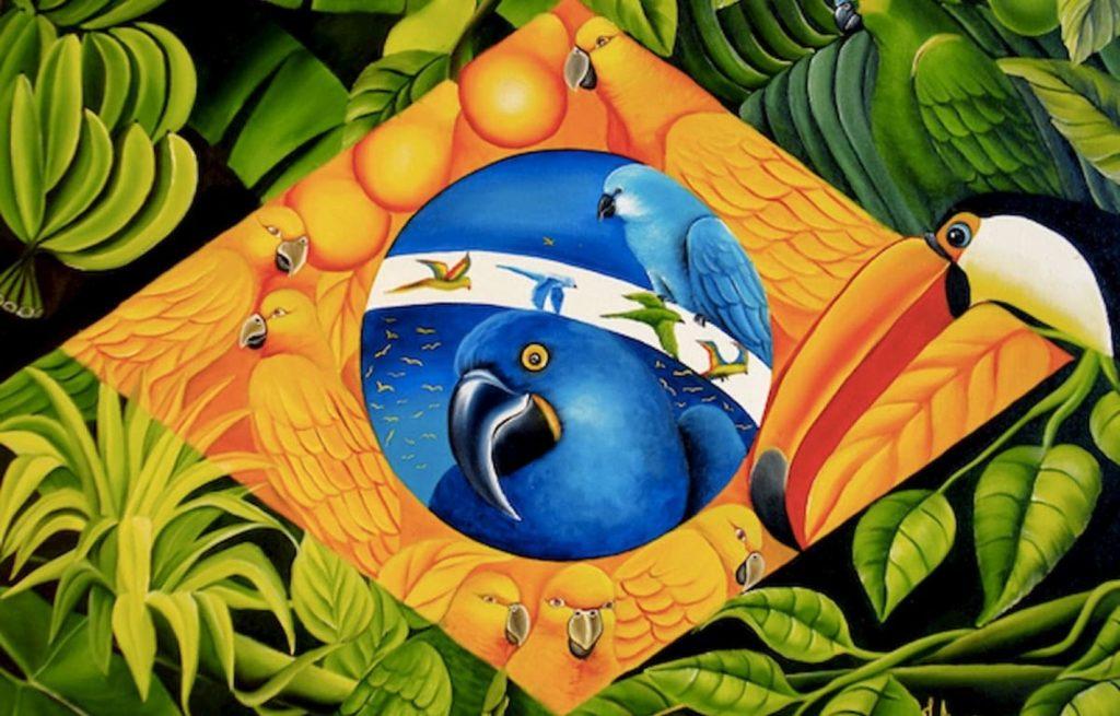 Biodiversidade - O Brasil detém a maior biodiversidade do mundo em seu território.