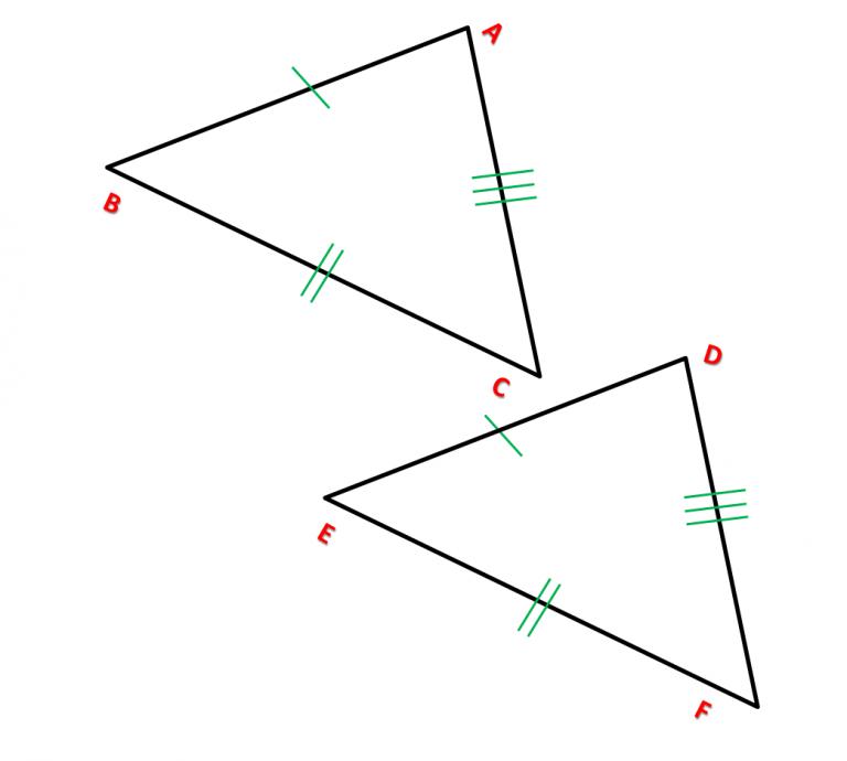Caso 1 triângulos congruentes