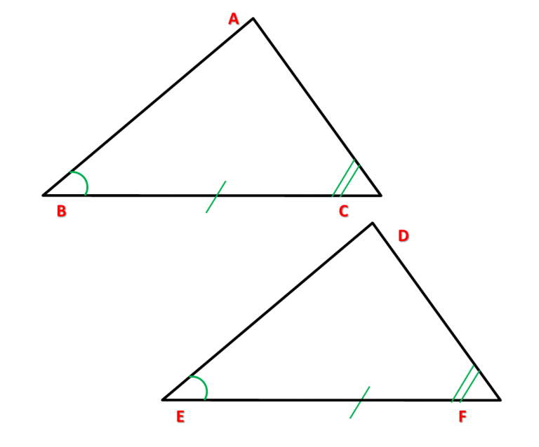 Caso 3 triângulos congruentes