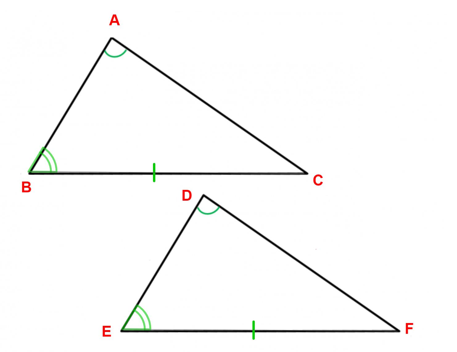 Caso 4 triângulos congruentes