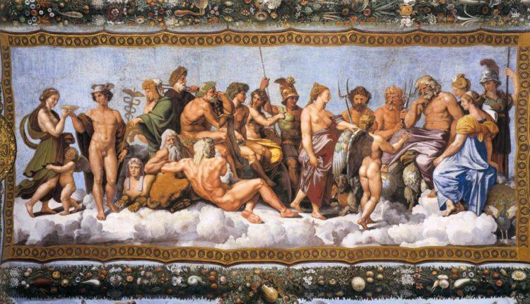 Deuses da mitologia romana