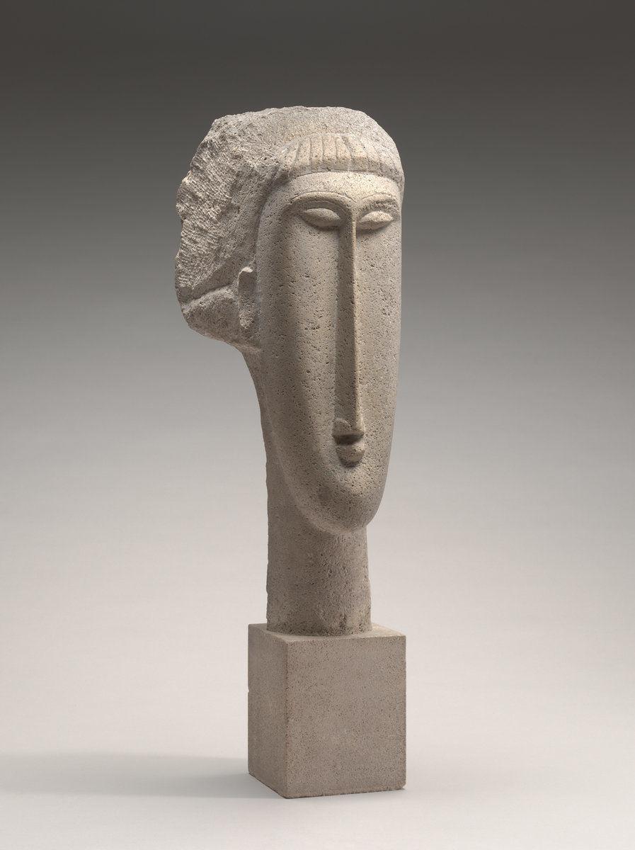 escultura Modigliani