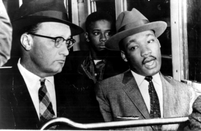Martin Luther King e Glenn Smiley