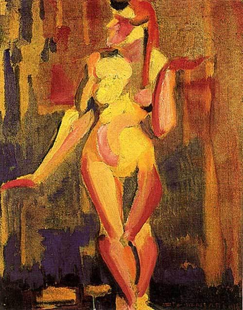 Nu cubista (1916)