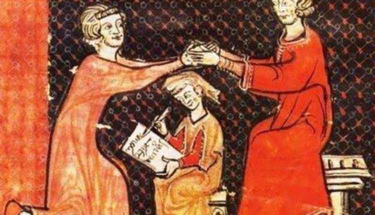 Relação de suserania e vassalagem no feudalismo