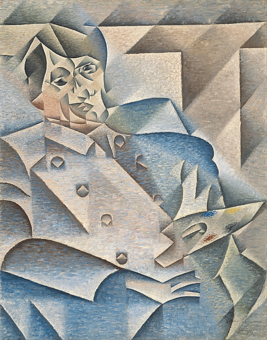 Retrato de Pablo Picasso (1912)