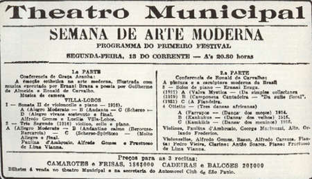 Semana da Arte Moderna (1922)