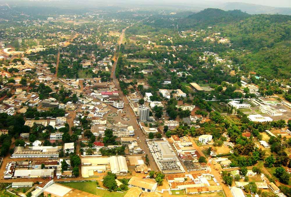 País com R - República Centro-Africana