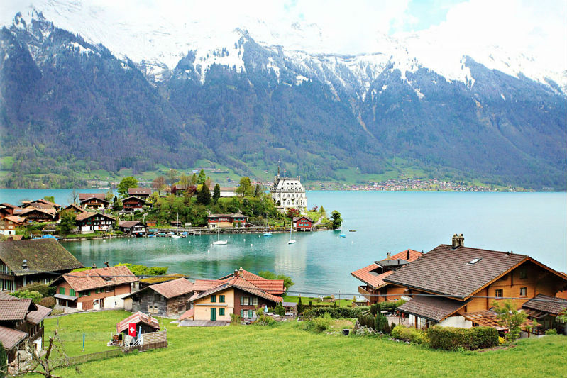 País com S - Suíça