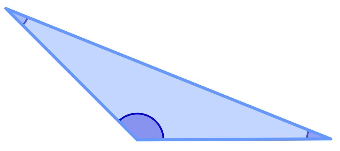 Triângulo obtusângulo