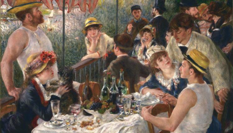 O almoço dos barqueiros - Renoir