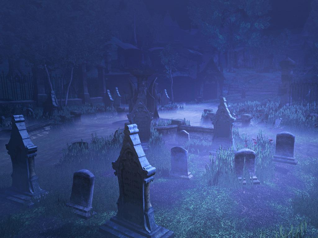 Histórias assustadoras para contar no escuro - Cemitério maldito