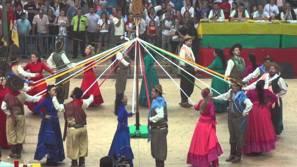 Folclore da região Sul - Dança das fitas