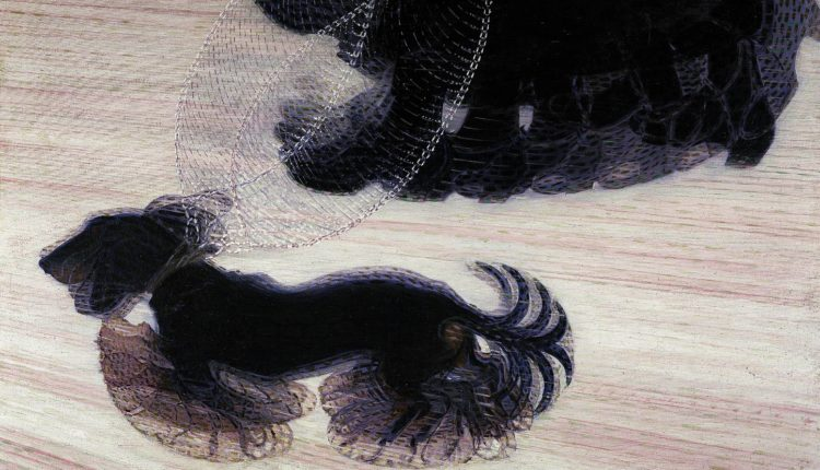 Dinamismo de um cão na coleira - Giacomo Balla