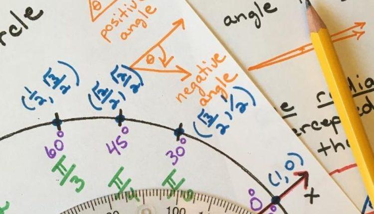 Lista de exercícios de trigonometria com resolução