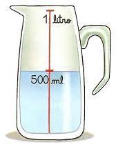 Medidas de capacidade - litro