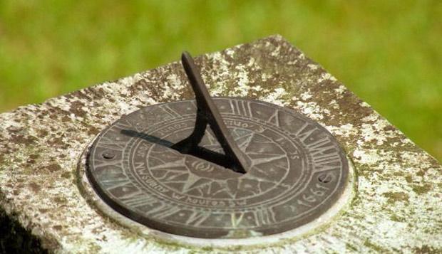 Relógio de sol - medidas de tempo