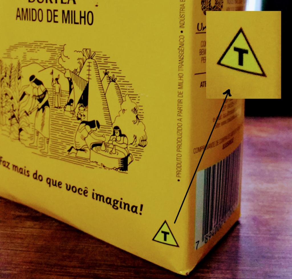 Alimentos transgênicos - Símbolo deve constar obrigatoriamente nas embalagens.