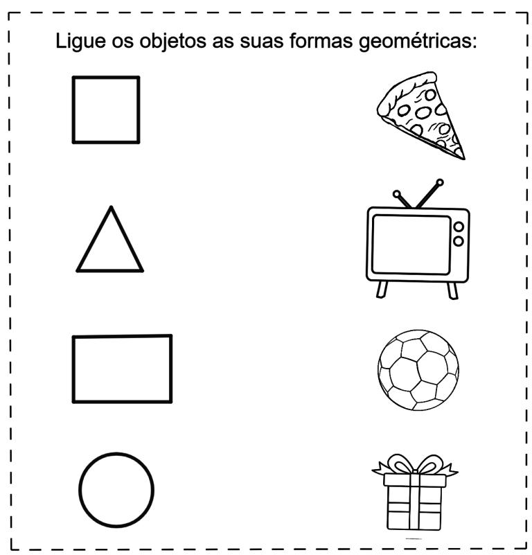 Atividade sobre formas geométricas