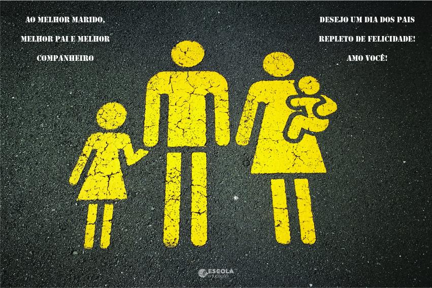 Cartão Dia dos Pais para imprimir