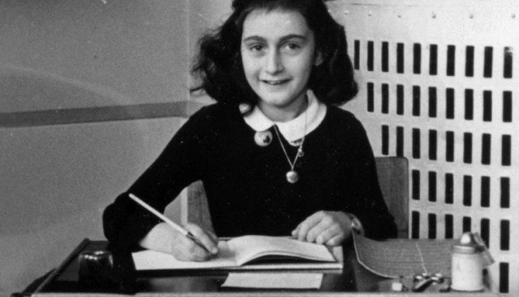 Como o diário de Anne Frank foi encontrado?