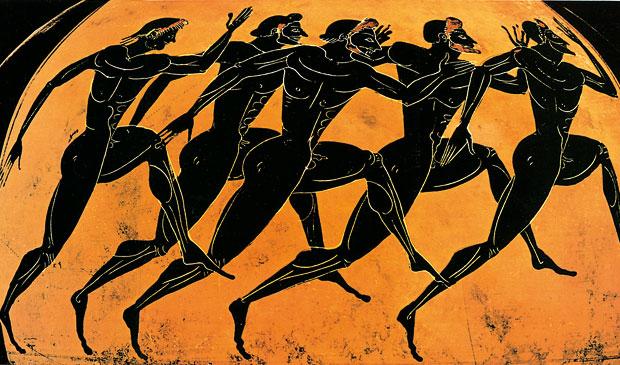 Atletismo na Grécia
