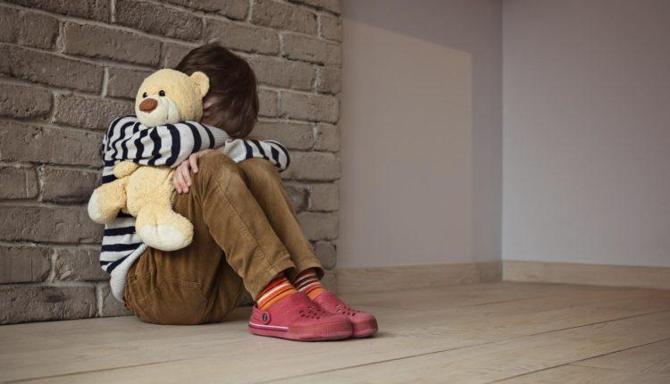 Criança insegura