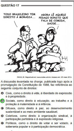 Cartoon no enem