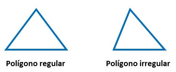 Polígono regular e irregular