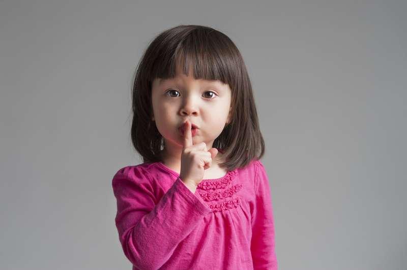 Brincadeira de criança - Silêncio