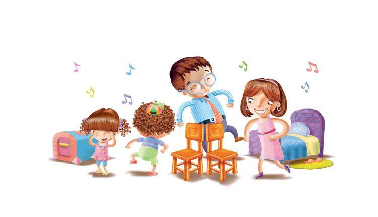 Nomes de brincadeiras - Dança das cadeiras