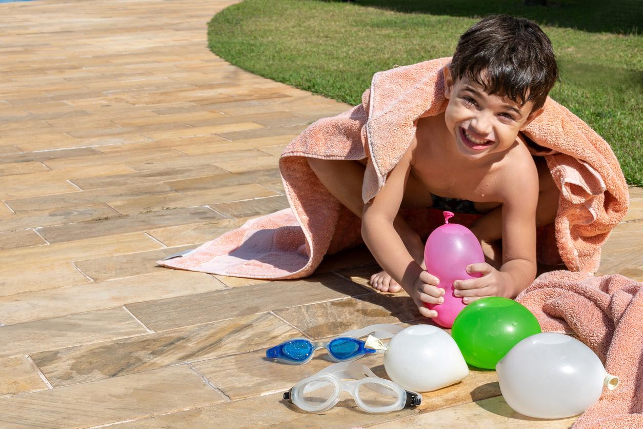 Guerra de balão de água