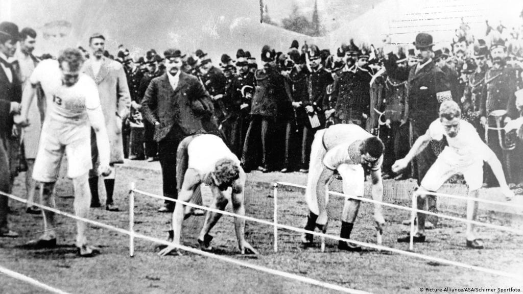 Primeiras Olimpíadas em 1896