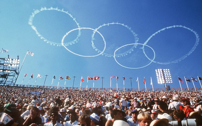 Olimpíadas em Los Angeles - 1984